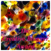 Creative Blogger award 2