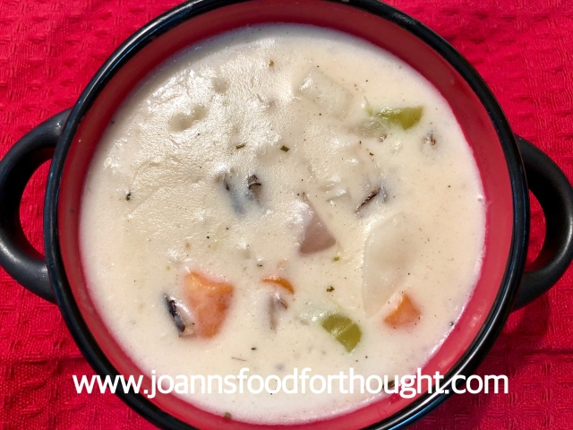 Creamy Wild Rice Soup 2